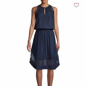 NWT Ramy Brook Quinn sheer hem midi dress! 💙